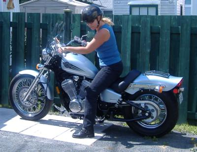 Honda 600 VLX Deluxe