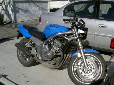 Smurf Bike