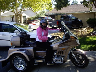 Me with Trike in Sacramento