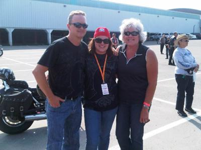 Bill Meghan and I , RIde for Sight 2011