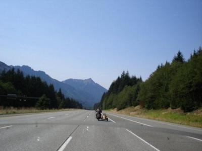 I-90 near Snoqualmie Pass