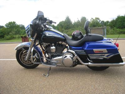 My 2008 Limited Edition Harley Davidson Street Glide