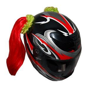 Helmet Pigtails