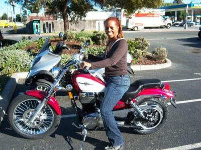 Me & My Suzuki the First Day!