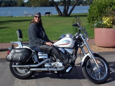 My Miss America Harley Davidson Super Glide 2006