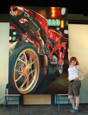 9ft Ducati Painting