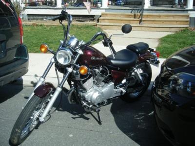 2009 Yamaha XV250YR