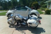 These are my 2 Babies.  MY bug and my bike