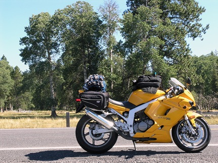 how to plan a long motorcycle trip