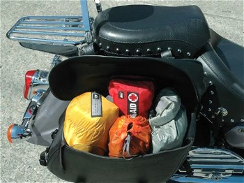 Packing a Motorcycle