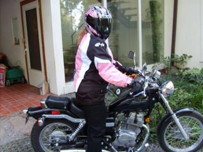 Me Getting Ready to Go Riding