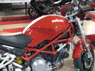 Pretty new, red Ducati- - on my wish list