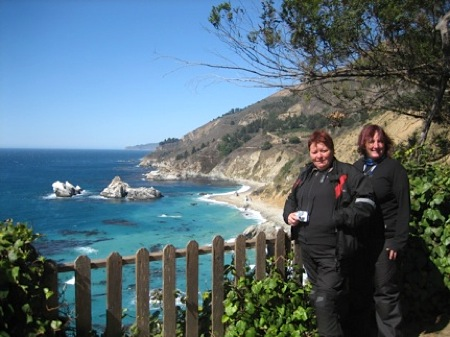 NorthStar Moto Tours - Sally and Carol
