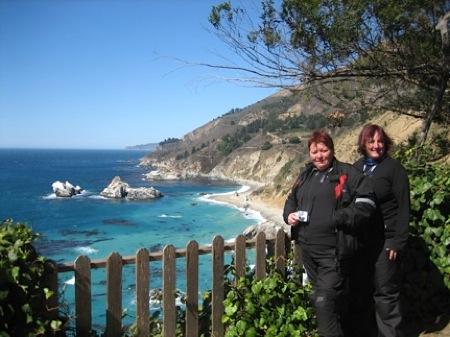 NorthStar Moto Tours - Sally and Carol