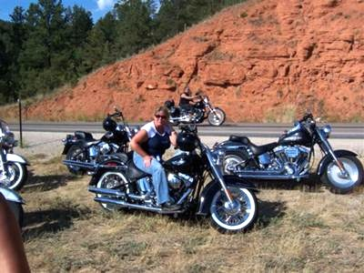 Riding in South Dakota