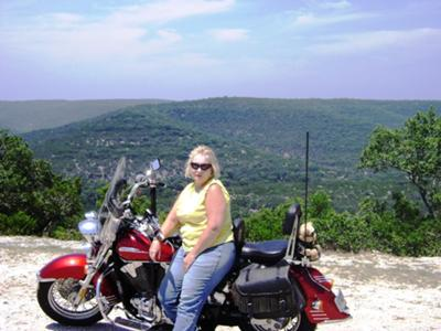 On Top of Ridge Near Kerrville, TX