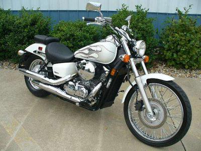My 2009 Honda Shadow Spirit 750