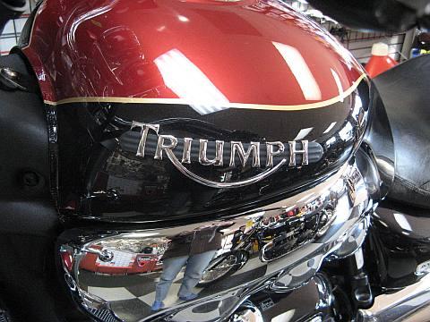 Triumph motorcycle tank