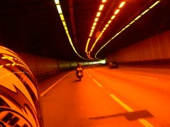 Riding Through a Dark, Dimly Lit Tunnel
