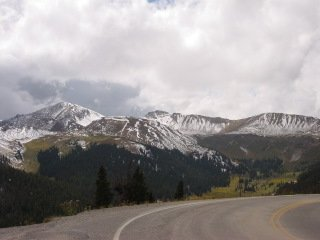 Another picture taken at the Independence Pass, and it was a great trip up!