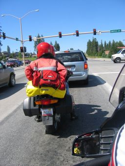Riding 2Up on a motorcycle