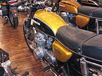 Vintage Honda Motorcycle
