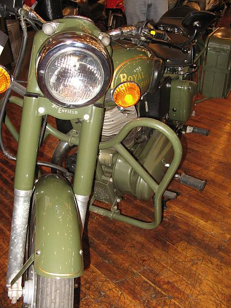 Royal Enfield Vintage Motorcycle