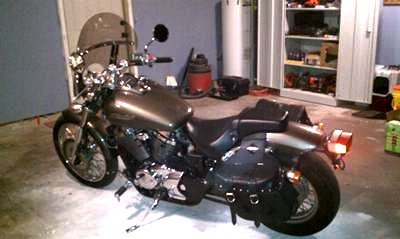 My Honda Shadow Spirit 750