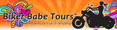 Biker Babe Tours Banner