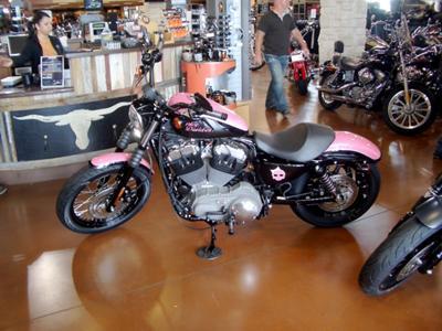 Pink HD Sportster