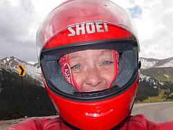 Helmet versus helmet hair
