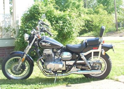 87 Honda Rebel 450