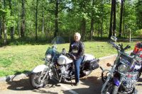 Riding the Natchez Trace